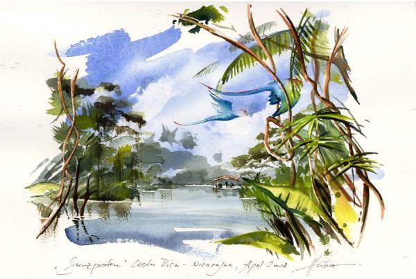 Aquarellieren auf Reisen Intensiv-Grundkurs