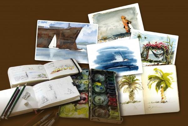 Zeichnen & Aquarellieren – Aufbauseminar
