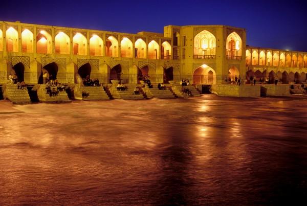 Persien TITELBILD Isfahan Kwaju Brücke