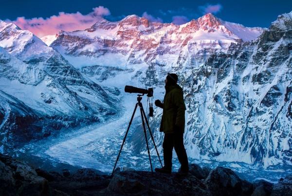 Gebirge, Himalaya, Nepal, Kangchenjunga,